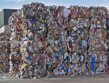 Handel Gewerbe Industrie Baustellenentsorgung Sperrmüllcontainer Müllmulde Container für Müll