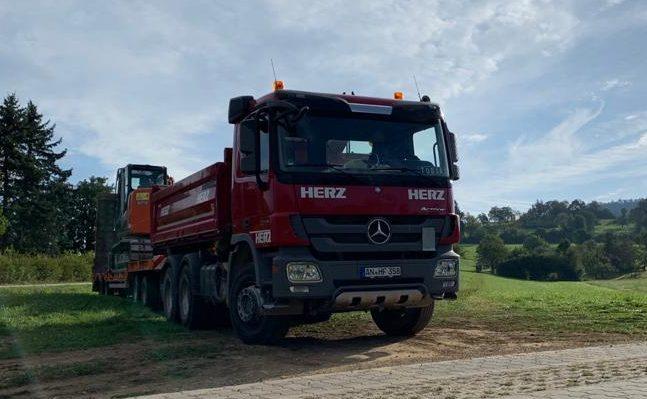 Transporte Erdbau Ansbach Neuendettelsau Heilsbronn Windsbach Weihenzell